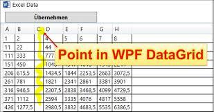 wpf darid column is not displa