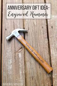 anniversary gift idea an end hammer