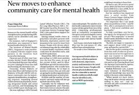 agency for integrated care new moves to enhance community care for mental health