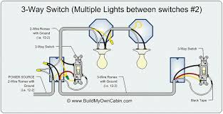 3 way switch wiring diagram 3 way switch diagram multiple lights between switches 2