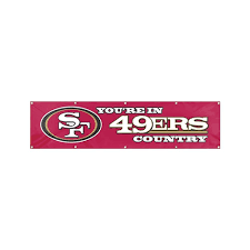 get ations party sports team logo san francisco forty niners giant 8 x 2