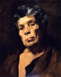 head of aesop john singer sargent oil painting