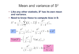 Sample Variance And Sample Error We Learned Recently How To ...