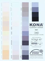Robert Kaufman Kona Cotton Solids The Full Range Of 369