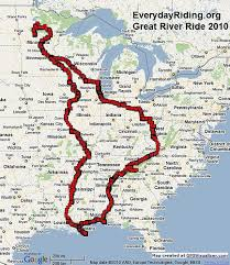 great river ride 2010 map