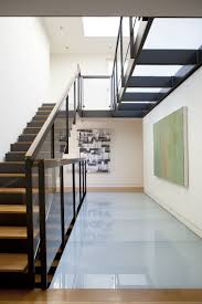 Interior:Red And White Stair Architecture Of Modern Design Idea Modern  Architecture Staircase Design With