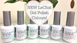 New Lechat Perfect Match Mood Gel Polish Colours