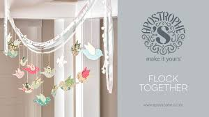 Small Picture Spring Garland DIY Crafts Easy Home Decor Crafts Flock