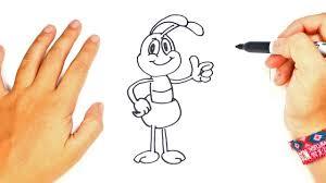 o dibujar un bicho paso a paso dibujo fácil de bicho
