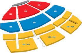 seating chart american theatre