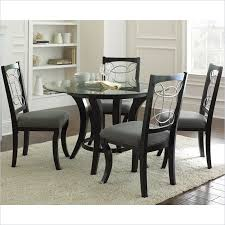 bold round dining table set