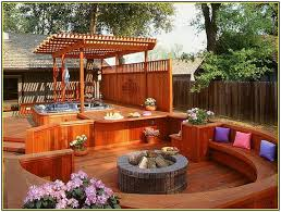 deck patio with fire pit. Deck Designs With Fire Pit Patio