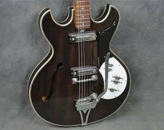 1960s trump vintage electric hollowbody guitar by teisco teisco ep 90t hollow body 335 walnut finish guitar made in
