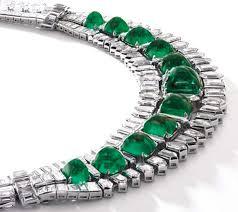 Diamond Designs Socialites Emerald Necklace 36 Carat Diamond Share