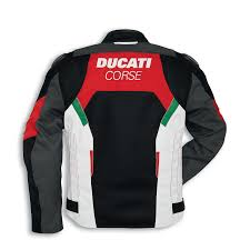 ducati corse tex summer fabric jacket