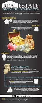 Real Estate Beginner Investing Tips Business Infographics