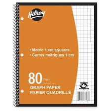 Buy Hilroy Metric Graph Paper Notebook At Well Ca Free Shipping