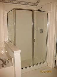 coastal shower doors paragon series 33 in x 82 in semiframed fancy framed shower doors framed vs semi frameless