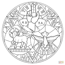 Small Picture Holy Trinity coloring page Free Printable Coloring Pages