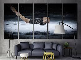Pittsburgh Penguins Bedroom Decor Hockey Decor Etsy
