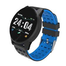 <b>119 Plus</b> Smart Watch Bluetooth Waterproof Fitness Tracker Heart ...