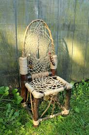 Dream Catchers Furniture Adorable Dream Catcher Chair No32 Mini Recycled Tree Limb Furniture For