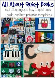 quiet books printable templatesquiet