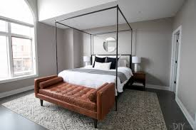 white modern master bedroom. The Basics A Modern Master Bedroom Design; Gray Color Scheme, Queen Size Bed With White, White O