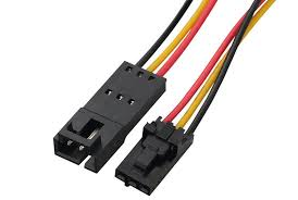 custom printed circuit board connectors ul1007 molex power extension