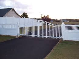 Custom Residential Wrought Iron Fencing Driveway Gates in Delaware