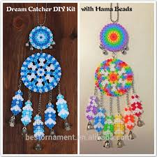 Dream Catcher Kits For Kids Interesting Dream Catcher For Windbell Diy Kit With Hama Perler 32mm Fuse Beads