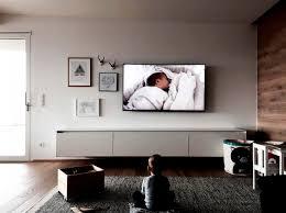 Schlafzimmer Ideen Fernseher Referenzen Tv Wall Tv Wand
