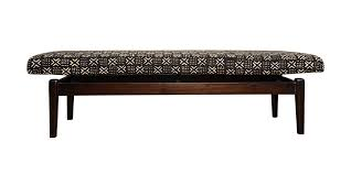 contemporary african furniture. Contemporary African Mudcloth Bench - ICF15031 Furniture Y