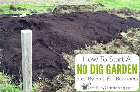 no dig gardening 101 how to start a no