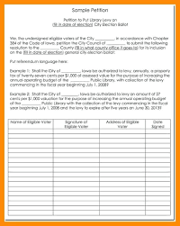 Sample Samples Petition Format And Example Form Template Word ...