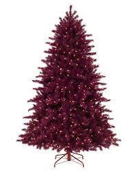 Treetopia - Cranberry Crush Christmas Tree Dark Red Christmas Trees  #CranberryCrush #ChristmasTree. rollover to zoom in