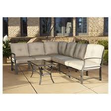 Serene Ridge 7 Piece Aluminum Outdoor Sofa Sectional Patio