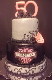 Harley Davidson Womens 50th Birthday Cake Cakecentralcom