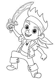 Small Picture Jake Pirate coloring page Free Printable Coloring Pages