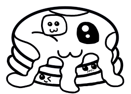 For kids & adults you can print cute or color online. Cute Foods Coloring Pages Free Coloring Home