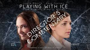 Lesbians and ice play
