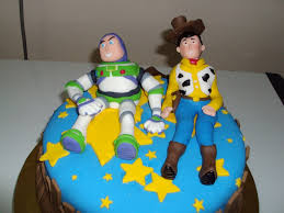 Buzz Lightyear And Woody Birthday Cake Ideas Topper Classic Style