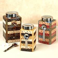 precious colorful kitchen canisters this picture here colored glass kitchen canister sets
