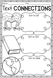 Reading Text Connection Worksheets, Posters & Bookmarks | Text ...