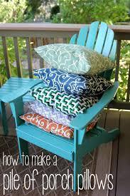 outdoor pillows diy