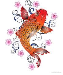 Koi Fish Design