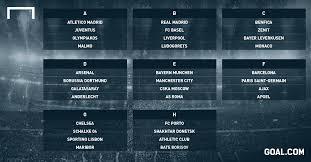 Am heutigen donnerstag wird die gruppenphase der champions league ausgelost. Champions League Gruppenphase Bayern Vs City Dortmund Vs Arsenal Goal Com