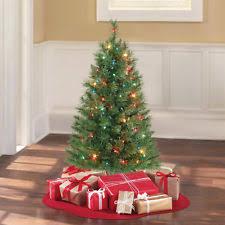 table xmas tree. holiday time 3 pre-lit multi-color winston pine christmas tree xmas decoration table