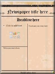 Microsoft Word Newspaper Template This Microsoft Word Newspaper Template Could Be Used For