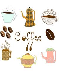 Image result for christmas coffee morning clip art